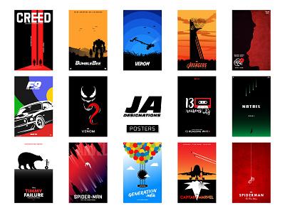 Alternative Movie Posters poster art bangladesh dhaka jadesignations ja minimal illustrations poster design poster movie