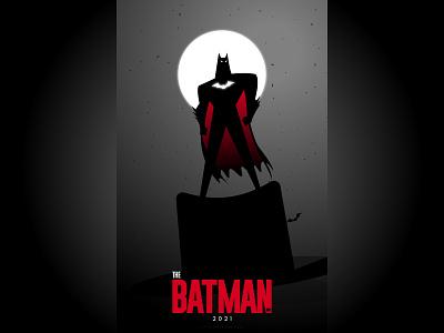 The Batman: 2021 typography vector branding bangladesh minimal dhaka ja poster design design poster illustraion dccomics dc bat batman