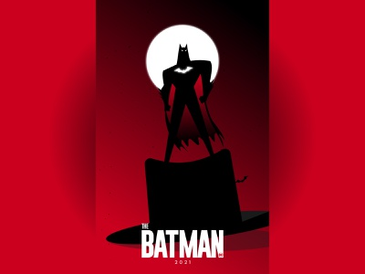 The Batman: 2021 dhaka ja illustration flat vector branding logo minimal illustraion poster design dccomics dc batman v superman the batman batman the animated series batman