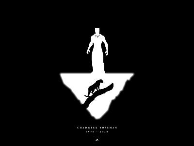 The King of Wakanda poster bangladesh dhaka ja vector minimal branding illustration black panther marvel chadwick boseman the king