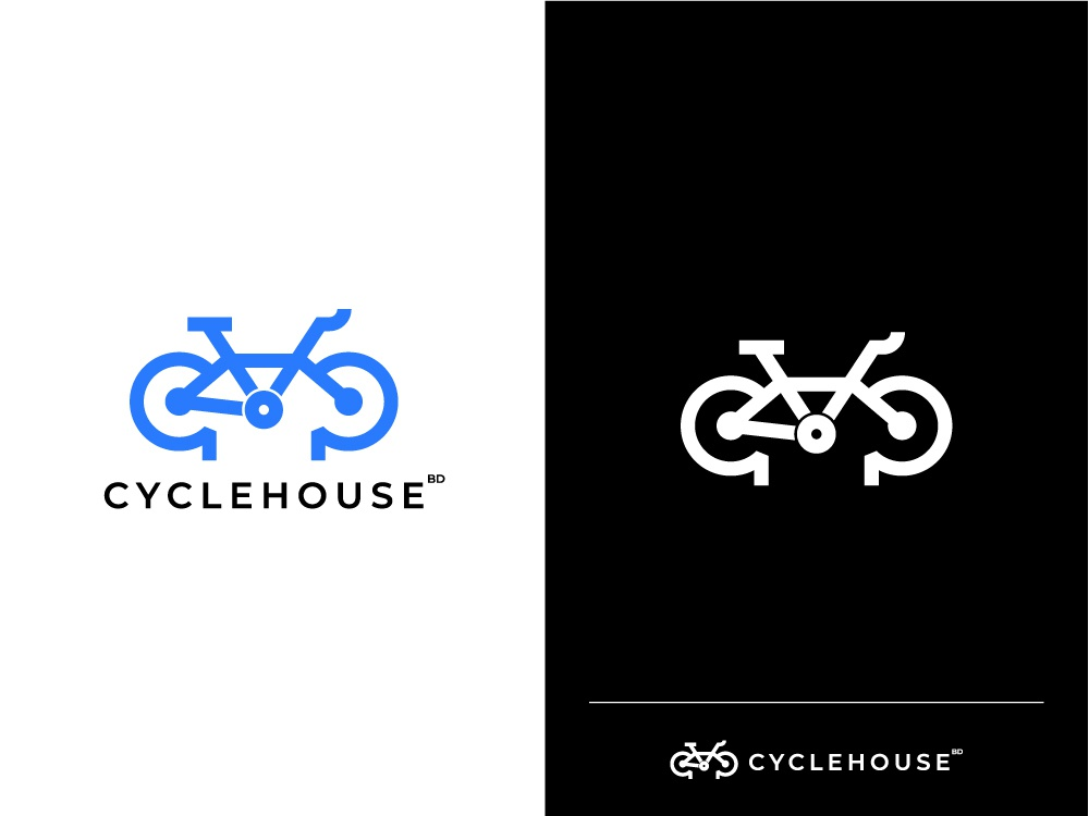 Cycle House bangladesh ja icon vector dribbble design flat minimal branding illustration logotype logo design logos logodesign logo cycle cycle house
