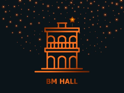 BM Hall on Christmas Month