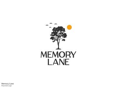 Memory Lane - Rejected Logo 02 bd dhaka ja illustration logo design logo branding tee memory lane