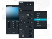 Studio UI panels