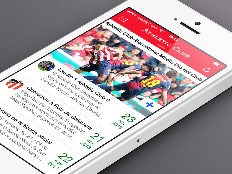 Athletic Club Official App oficial app app athletic sketch