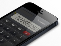 Panasonic Calculator