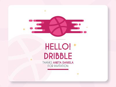Hello Dribbble ! Im Ahmad logo icon flat vector ui design