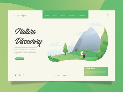 Project Landing Page Nature Discovery