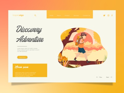 Project Landing Page Discovery Adventure