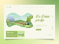 Project Landing Page Go Green For Life