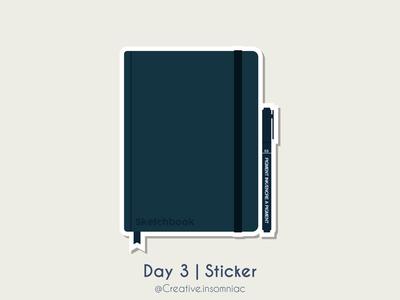 Day 3   Sticker
