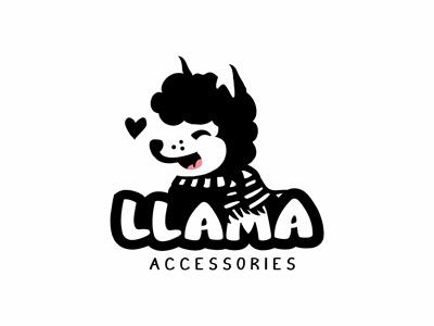 Llama logo animal logo kids accessories logo kids llama logo llama logo lama logo