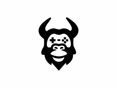 Gorilla gamer streamer logo animal logo minimalist logo gorilla streamer logo gorilla gamer logo gorilla logo streamer logo gamer logo