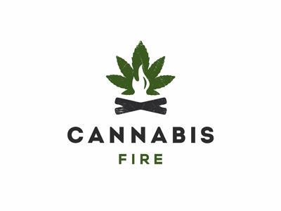 Cannabis Fire logo fire logo cannabis fire canna logo cannabis logo marijuana canna cannabis