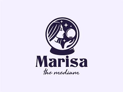 Medium logo magic logo magic crystall logo medium logo