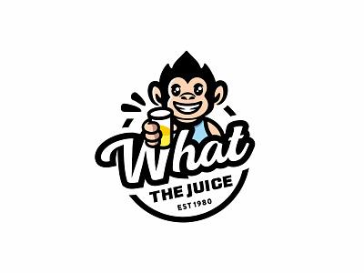 Monkey juice bar juice bar logo monkey bar logo monkey logo