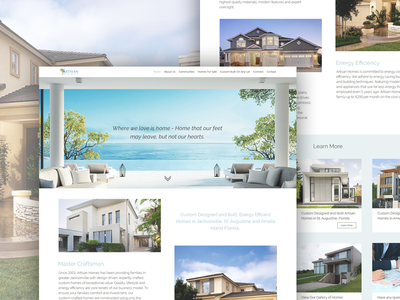 Website Design For Real Estate Company website web ux ui service layout graphicdesign graphic garden freelance design