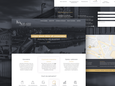 Website Design For Notary web design ui design layout website web ux ui minimal graphicdesign graphic freelance design