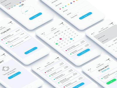Calendar App Design