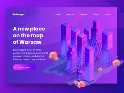 Apartment Complex Website Concept