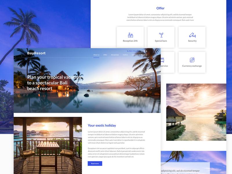 BayResort - Website Design