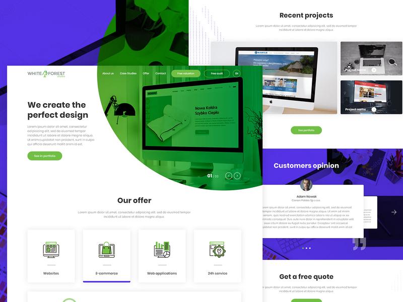 Interactive Agency - Website design