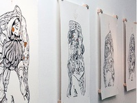 """Proskuneo"" at Kayo Gallery, SLC, UT"