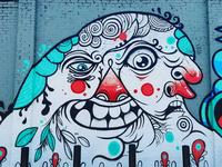 Juxtapoz/Boost Wall