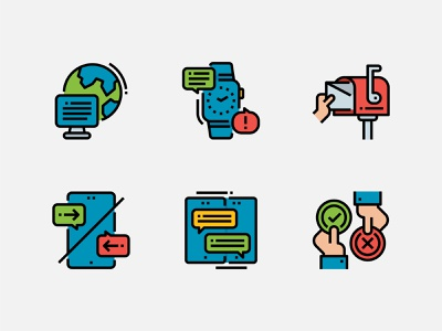 Communications Icon. communications icondesign iconaday iconset icons iconography vector ux logo app ui design illustration icon