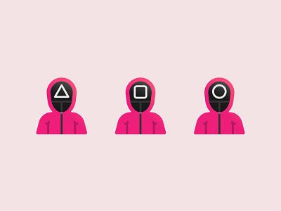 Squid Game?! netflix squidgame squid game vector ui design ux logo illustration icon