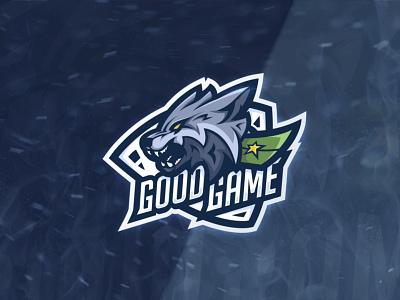 Good Game eSports team logo design esports mascot esports logo esportlogo esportslogo esports esport game mascotlogo mascot designer logo design symbol graphic designer logotype vector wolf logo wolf design logo