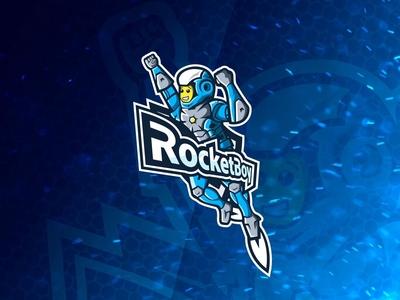 """RocketBoy"" logo design"