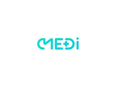 Medi design designer graphic designer branding vector symbol brand logo design logotype logo medical