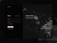 Daily UI #1 | Login | Bart Jansen