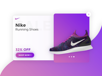 Daily UI challenge #016 - Pop-Up / Overlay ux ui daily dailyui overlay pop-up gradient daily ui challenge 016 nike day daily ui