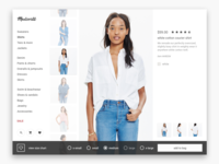 Daily UI #012 Product Detail View