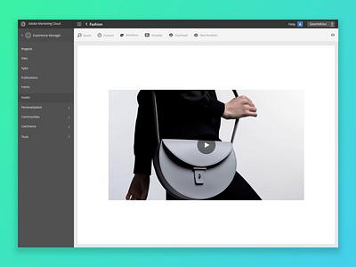Renditions for Adobe MC Brand Portal aem adobe design concept