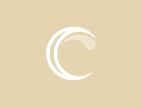 C + C + Ice Cream logo concept
