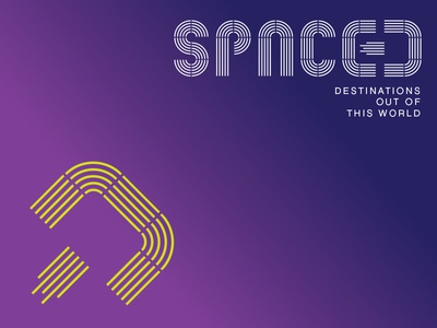 SPACED logo concept 3