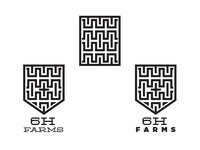 6H Farms logo WIP