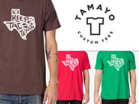 Keep Tacos Texan Shirt