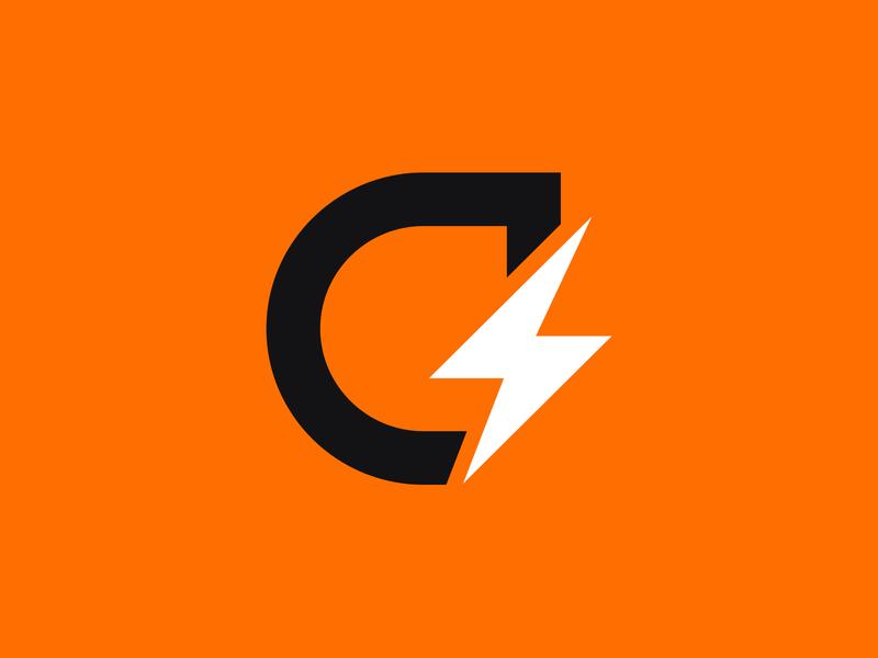 Gatorade Rebrand energy icon logo lightning gatorade rebrand g bolt