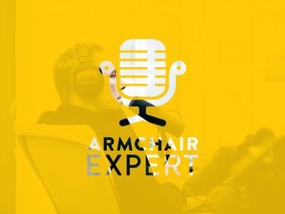 Armchair Exert Logo Concept Stacked