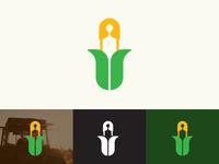Corn + Safety Pin logo