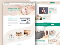 Ausline Clinic Web Design