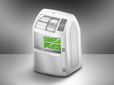 Foodocopy Indoor Food Planting Unit food device home appliance 3d industrial design indoor green planting product product design