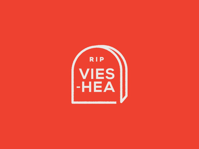 RIP VEISHEA vector lettering branding iowadadhats college iowa state commission embroidery logo