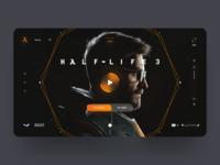 Half Life 3 Web Concept Design 🦯🎮