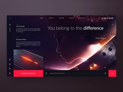 Concept - Lusax Web - Design Home 2 🌌