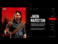 Red Dead Redemption 2 - Jhon Marston